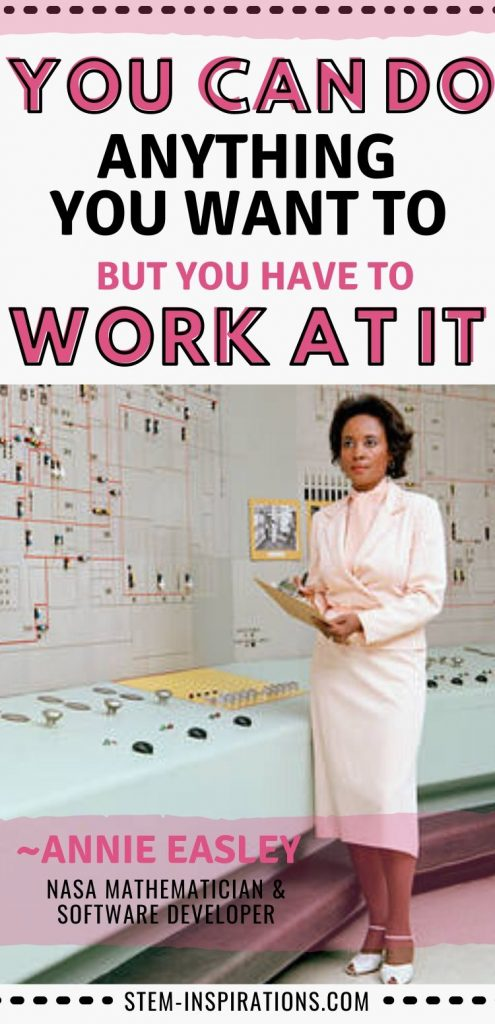 Annie Easley quote