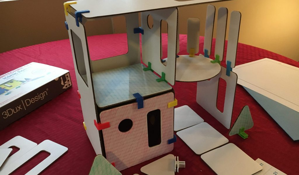 STEAM activity with 3DuxDesign architectural play set