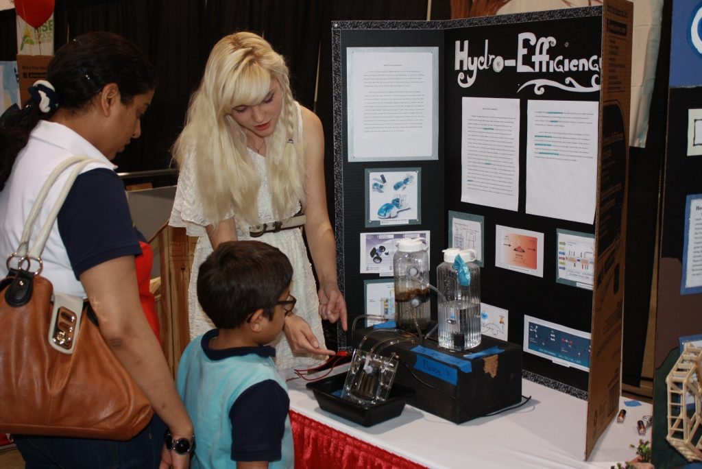 Real-world science fair projects help students with real-world careers in STEM