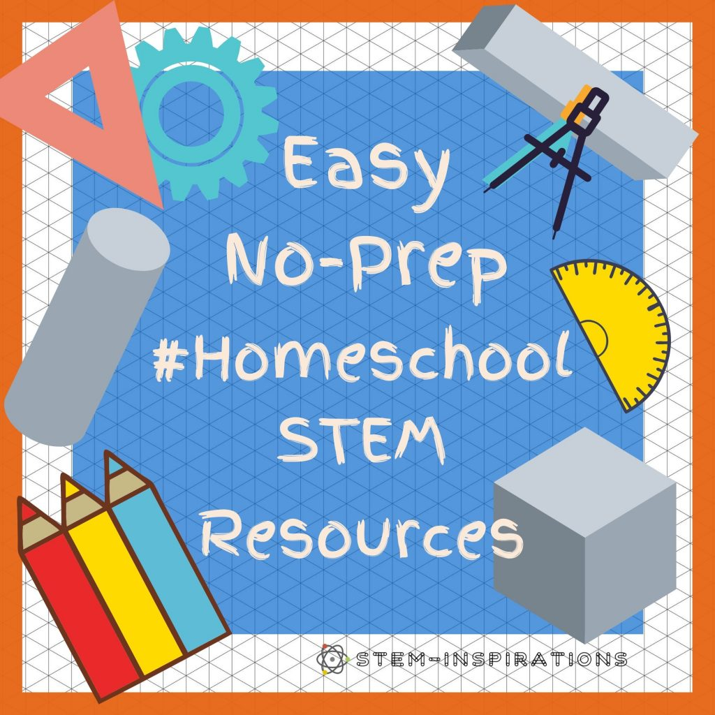 Teach Stem At Home The Easy Way With These No Prep Printable Worksheets And Activity Books Stem Inspirations