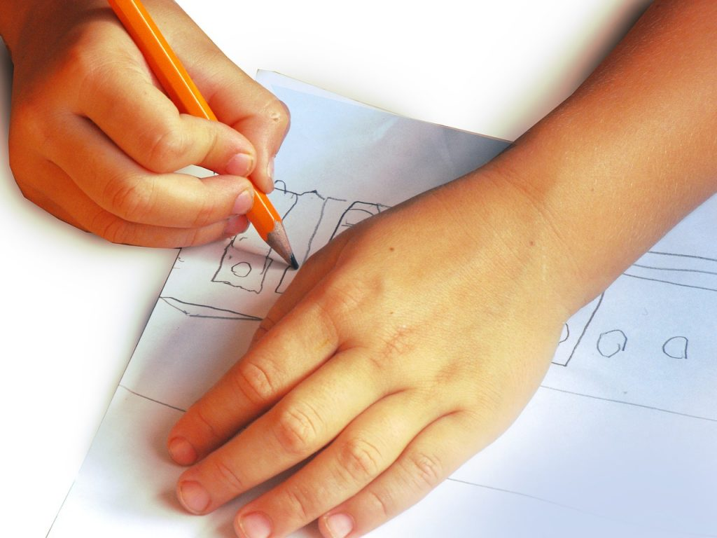 Drawing is proven to help kids memorize facts and learn better