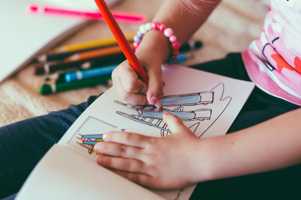 Activity books are a fun way to help your child learn better.
