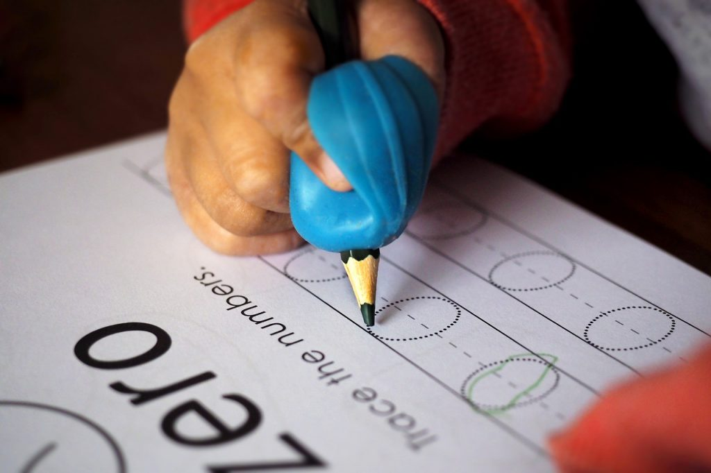 Handwriting practice builds brain connections that help children learn